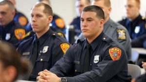 Double amputee Marine joins NY police department