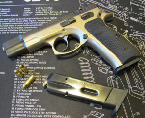 Gun Review: CZ-75B semi-automatic handgun in 9mm