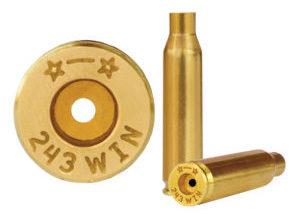 Starline Brass expands rifle brass lineup, adds .243 Win
