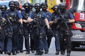British police chiefs to consider issuing firearms to all frontline officers