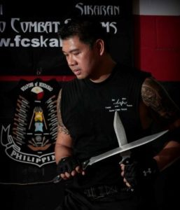 DoubleStar collaborating with Filipino martial arts instructor Tuhon Ray Dionaldo