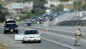 Rolling gun battles are common on California freeways