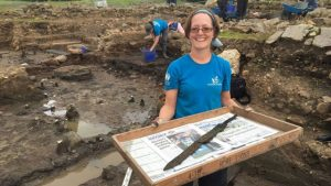 Roman swords, rare treasures unearthed in England