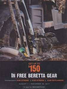 Up to $150 in FREE Beretta Gear