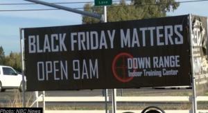 Black Friday Matters Billboard Upsets Snowflakes