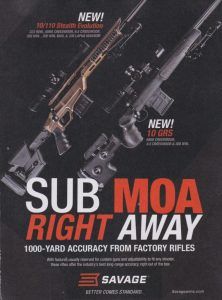 New SUB MOA's from Savage