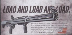 KELTEC's 41 Round Shotgun