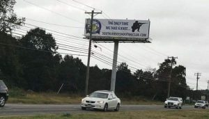 Not-so 'Racist' Gun Range Billboard in N.J. Criticizes NFL Kneelers