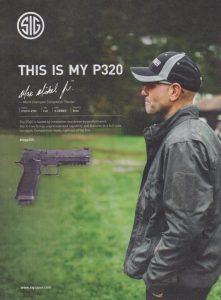 Max Michel Sig P320 Gun Ad