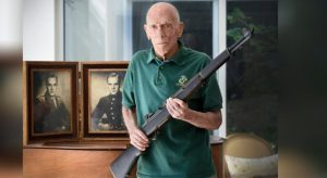 Marine reunited with his wartime M1 Garand after 73 years