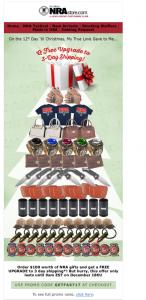 NRA Christmas Tree E-Blast