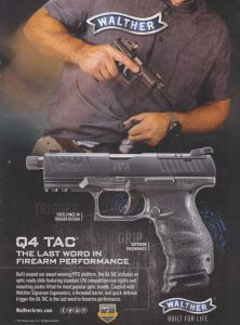 Walther Q4 TAC Handgun