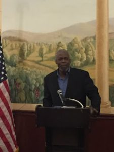 Rick Ector Addressed the Michigan 9th District GOP