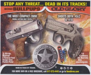 Bond Arms Bullpup9 & Old Glory