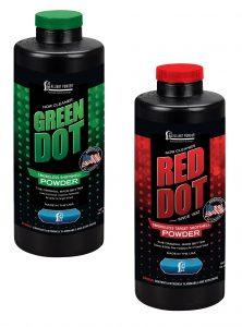 Alliant Powder releases new Red Dot, Green Dot reloading propellants