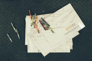 Kitfox Design casts second coloring book onto consumers