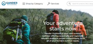 Guns, ammo and more for sale on redesigned Gander Outdoors website