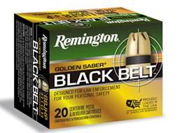 Remington finally releases Golden Saber BlackBelt Ammo