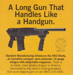 Shotgun Looks Like A Handgun