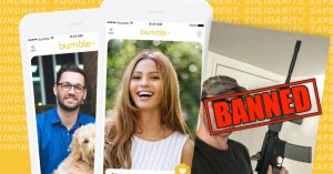 Bumble Bans Guns From Dating Site