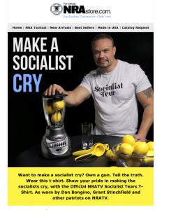 NRA Store: Socialist Tears