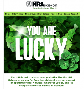 Luck of the NRA
