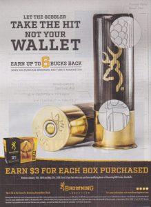 Browning Turkey Ammo Cash Back