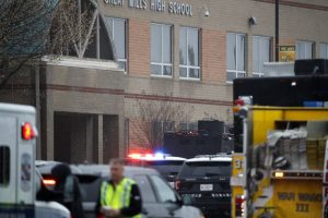 Maryland high school on lockdown after shooting