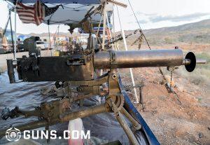 Machine Gunner Mark Dinsmore shows us his guns (VIDEO)