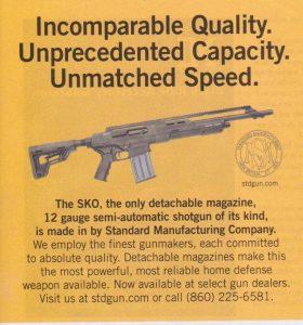 STD Semi-Automatic Shotgun