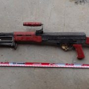 Chinese Type 81 LMGs Found with Amphetamine Filled Packets in Mosul