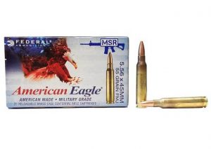 Deal Alert: Federal 5.56 NATO $5.99/20 with Free Shipping