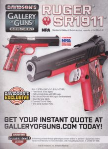 Ruger SR1911 In Red