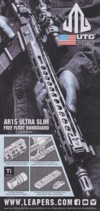 AR15 Ultra Slim Free Float Handguard