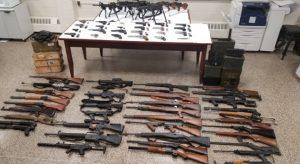 NYPD seizes gun collection, 'unprecedented' amount of ammo (PHOTOS)