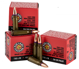 Century Arms announces return of Red Army Standard 7.62x39mm ammo