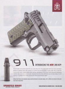 Springfield Armory 911 New .380
