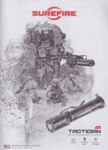 800 Lumens SUREFIRE Tactician