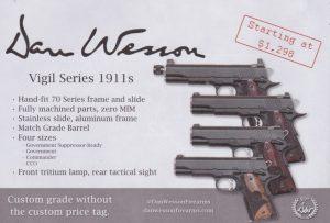 Dan Wesson Vigil 1911s