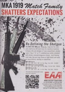 EAA's MKA 1919: The AR Shotgun