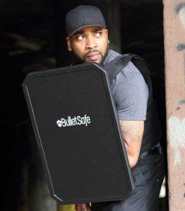 BulletSafe ARAK Bulletproof Shield That Protects Against AR and AK Rounds