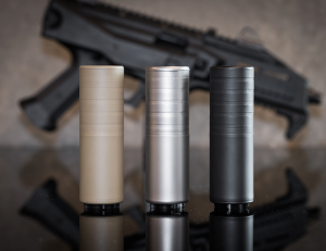SilencerCo intro's new color finishes on popular suppressors