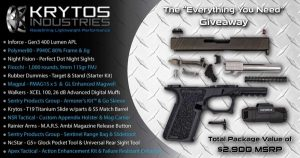 Krytos Industries Announces Massive Social Media Giveaway