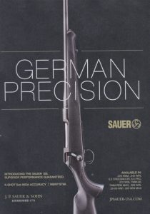 German Hunting Rifle