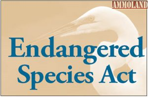 SCI Supports USFWS Proposed Improvements To Endangered Species Act