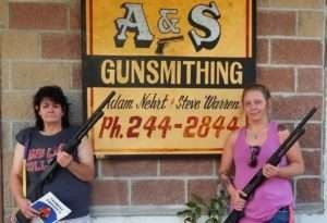 Project To Buy Guns For Women Arms First Two