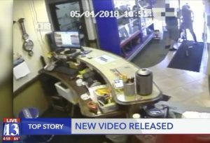 WATCH: Police Release Video of Deadly Pawn Shop Robbery