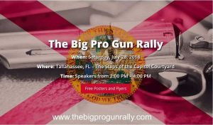 Florida's Largest Pro Gun Rally Set For Saturday, July 28 at Capitol