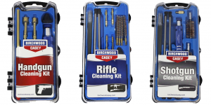 Birchwood Casey serves up three new firearm cleaning kit