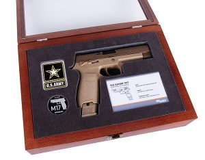 Sig Sauer to release 5,000 M-17 commemorative edition pistols